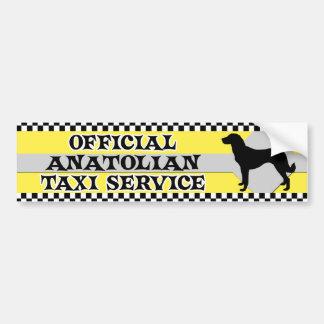 Pegatina para el parachoques de Anatolia del servi Pegatina De Parachoque