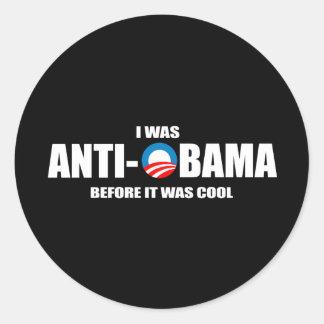 Pegatina para el parachoques de Anti-Obama - era