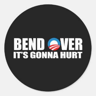 Pegatina para el parachoques de Anti-Obama - la
