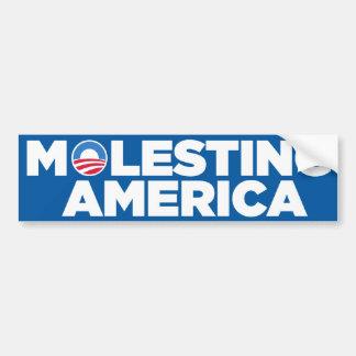 Pegatina para el parachoques de Anti-Obama (poner  Pegatina Para Auto