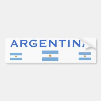 Pegatina para el parachoques de Argentina* Pegatina Para Auto