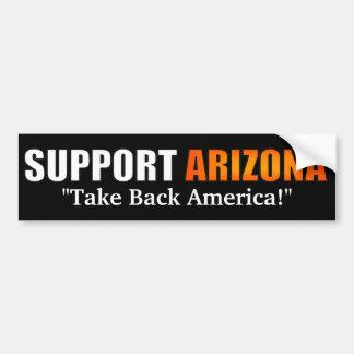 Pegatina para el parachoques de Arizona de la ayud Pegatina Para Auto
