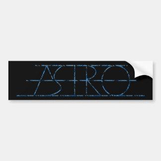 Pegatina para el parachoques de Astro (natural) Pegatina Para Auto