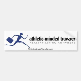pegatina para el parachoques de AthleticMindedTrav Etiqueta De Parachoque