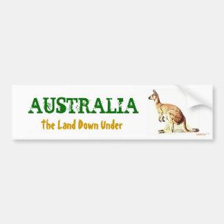 Pegatina para el parachoques de AUSTRALIA Etiqueta De Parachoque