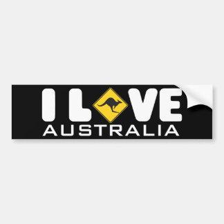 Pegatina para el parachoques de Australia el | Etiqueta De Parachoque