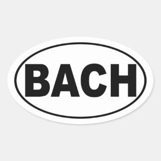 Pegatina para el parachoques de Bach