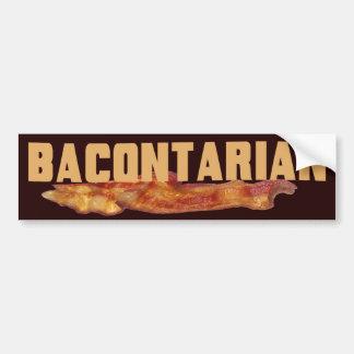 Pegatina para el parachoques de Bacontarian Pegatina De Parachoque