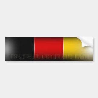 Pegatina para el parachoques de Bélgica Pegatina Para Auto