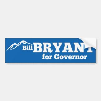 Pegatina para el parachoques de Bill Bryant Pegatina Para Auto