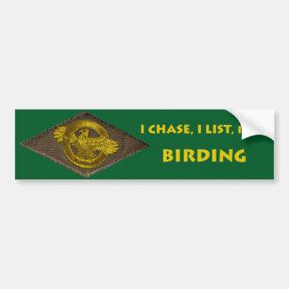Pegatina para el parachoques de Birding Pegatina Para Auto