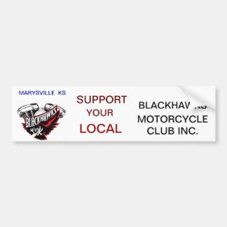 Pegatina para el parachoques de Blackhawks Pegatina Para Auto