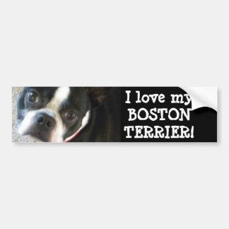 Pegatina para el parachoques de BOSTON Etiqueta De Parachoque