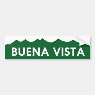 Pegatina para el parachoques de Buena Vista Colora Pegatina Para Auto