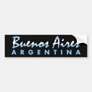 Pegatina para el parachoques de Buenos Aires Pegatina Para Auto