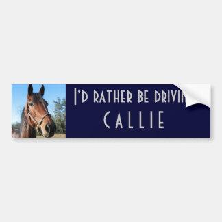 Pegatina para el parachoques de Callie Pegatina Para Auto