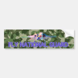 Pegatina para el parachoques de Camoflage del Guar Pegatina De Parachoque