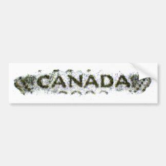 Pegatina para el parachoques de Canadá Nickelrub2 Pegatina Para Auto