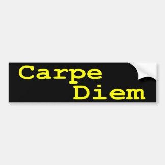 Pegatina para el parachoques de Carpe Diem Pegatina Para Auto