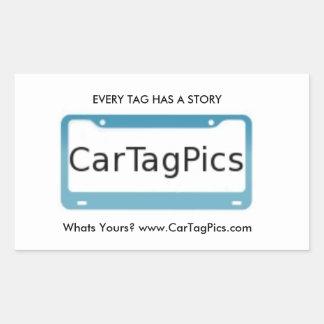 Pegatina para el parachoques de CarTagPics
