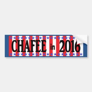 Pegatina para el parachoques de CHAFEE en 2016 Pegatina Para Auto