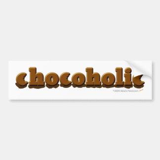 Pegatina para el parachoques de Chocoholic Pegatina Para Auto