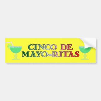 Pegatina para el parachoques de Cinco de Mayo Rita Pegatina Para Auto