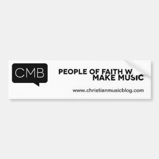 Pegatina para el parachoques de CMB Etiqueta De Parachoque