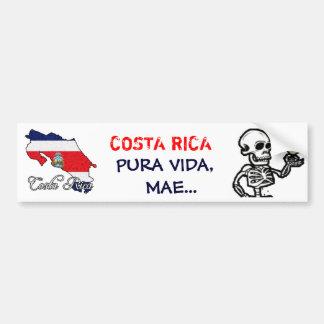 Pegatina para el parachoques de Costa Rica - modif Pegatina Para Auto