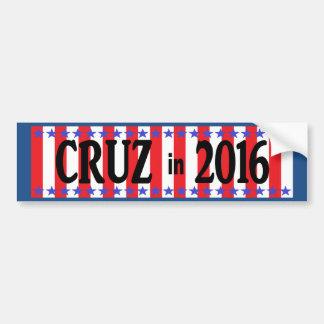 Pegatina para el parachoques de CRUZ en 2016 Pegatina Para Auto