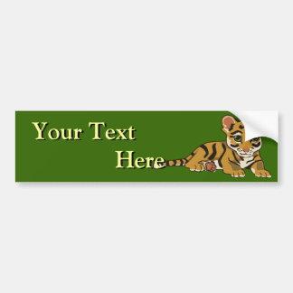 Pegatina para el parachoques de Cub de tigre Pegatina Para Auto