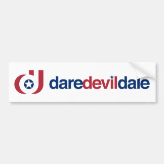 Pegatina para el parachoques de DareDevilDale Etiqueta De Parachoque
