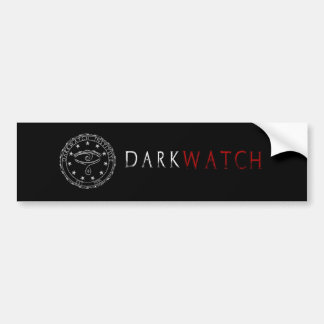 Pegatina para el parachoques de DarkWatch Pegatina Para Auto