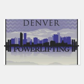 Pegatina para el parachoques de Denver