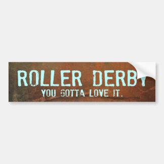 Pegatina para el parachoques de Derby del rodillo Pegatina Para Auto