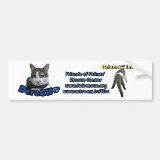 Pegatina para el parachoques de Derecho Pegatina De Parachoque