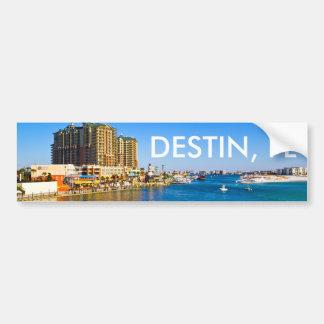 Pegatina para el parachoques de Destin la Florida Pegatina Para Auto