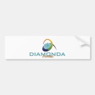 Pegatina para el parachoques de Diamonda la Florid Pegatina De Parachoque
