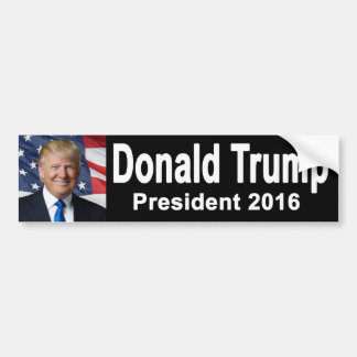 Pegatina para el parachoques de Donald Trump Pegatina Para Auto