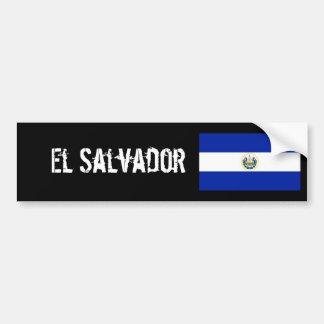 Pegatina para el parachoques de El Salvador Pegatina Para Auto