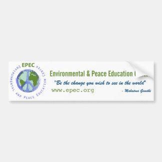 Pegatina para el parachoques de EPEC Etiqueta De Parachoque