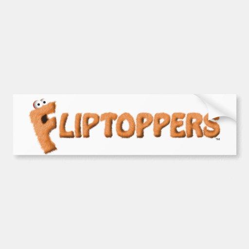 ¡Pegatina para el parachoques de Fliptoppers! Etiqueta De Parachoque