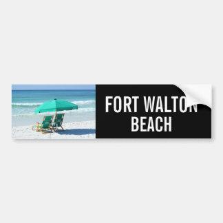 Pegatina para el parachoques de Fort Walton Beach  Pegatina Para Auto
