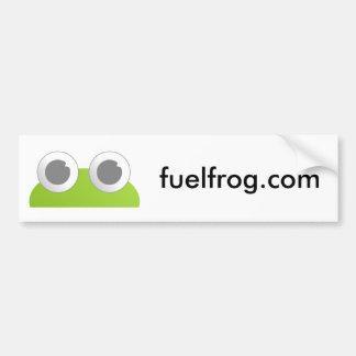 Pegatina para el parachoques de FuelFrog Pegatina Para Auto