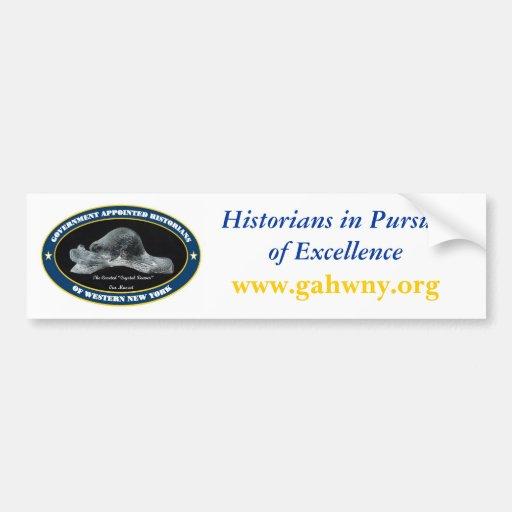 Pegatina para el parachoques de GAHWNY Etiqueta De Parachoque