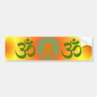 Pegatina para el parachoques de Ganesh Pegatina Para Auto