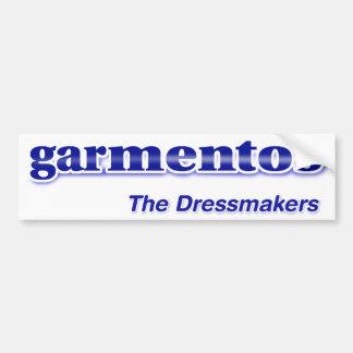 Pegatina para el parachoques de Garmentos Etiqueta De Parachoque