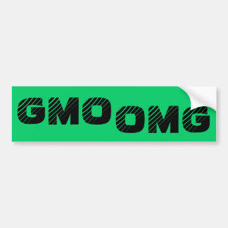 Pegatina para el parachoques de GMO OMG Pegatina Para Auto
