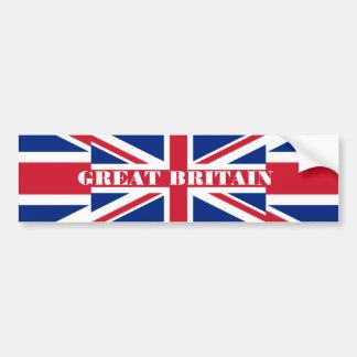 Pegatina para el parachoques de Gran Bretaña Pegatina Para Auto