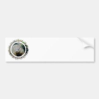 Pegatina para el parachoques de Groundhog Etiqueta De Parachoque